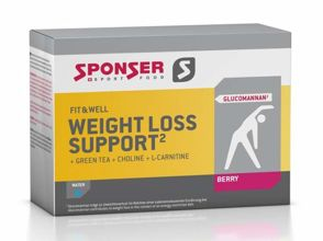 Napój SPONSER WEIGHT LOSS SUPPORT jagoda pudełko (15 saszetek x 9g)