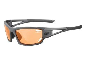 Okulary TIFOSI DOLOMITE 2.0 FOTOTEC matte gunmetal (Backcountry Orange fotochrom)