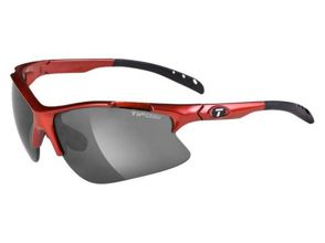 Okulary TIFOSI ROUBAIX metallic red (Smoke, AC Red, Clear)
