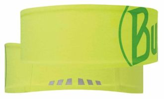 Opaska BUFF Headband Tech LOGO YELLOW FLUOR