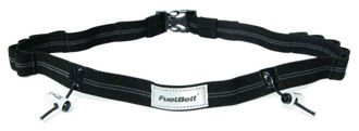 Pas startowy FuelBelt Gel Ready Race Number Belt Black