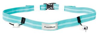 Pas startowy FuelBelt Reflective Race Number Belt