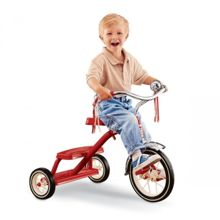 Pojazd dziecięcy RADIO FLYER Classic Red Dual Deck Tricycle (Model 33C)