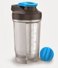 Shaker do odżywek Contigo Shake&Go Fit 590 ml - carolina blue