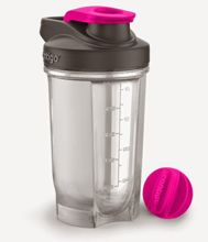 Shaker do odżywek Contigo Shake&Go Fit 590 ml - neon pink