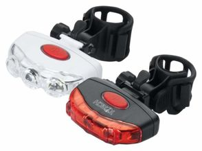 Zestaw lampki TORCH USB CYCLE LIGHT SET TAIL BRIGHT USB + TAIL BRIGHT USB