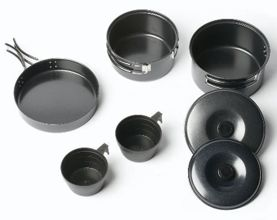 Zestaw naczyń Vango 2 Person Non-Stick Cook Kit