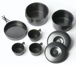 Zestaw naczyń Vango 3 Person Non-Stick Cook Kit