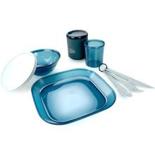 Zestaw turystyczny GSI Outdoors Infinity 1 Person Tableset Blue