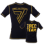 "Koszulka Trec Nutrition MEN'S TREC WEAR - BIG YELLOW LOGO ""T"" + TREC TEAM - RASH 010/SHORT SLEEVE/BLACK"