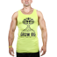 Koszulka Trec Nutrition MEN'S TREC WEAR - GROW BIG - TANK TOP 008/GREEN
