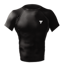 "Koszulka Trec Nutrition MEN'S TREC WEAR - SMALL WHITE LOGO ""T"" - RASH 003/SHORT SLEEVE/BLACK"