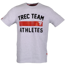 Koszulka Trec Nutrition MEN'S TREC WEAR - TREC TEAM ATHLETES - T-SHIRT 001/GRAY MELANGE