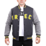 "Kurtka Trec Nutrition MEN'S TREC WEAR - YELLOW LOGO ""TREC"" - JACKET 005 SLIM/GRAPHITE"