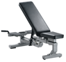 Ławka York Fitness Professional Multi Function Bench Silver