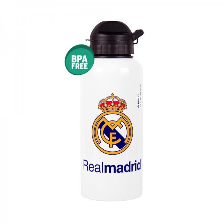 BIDON ALU REAL MADRID BLANCO 59A /70047