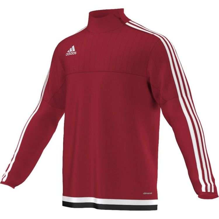 BLUZA adidas TIRO 15 TRAINING TOP czerwona roz 2XL /M64023