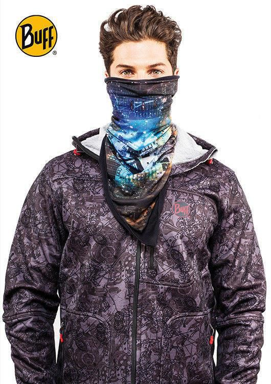 Bandana Polar Buff NEON SIDES/ BLUE DEPTHS