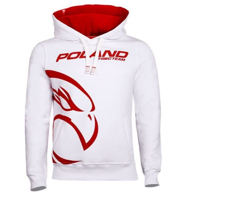 Bluza Trec Nutrition MEN'S TREC WEAR - TTP - HOODIE 039/WHITE