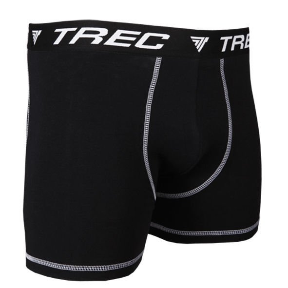 Bokserki Trec Nutrition MEN'S TREC WEAR - BOXER SHORTS 001 - BLACK
