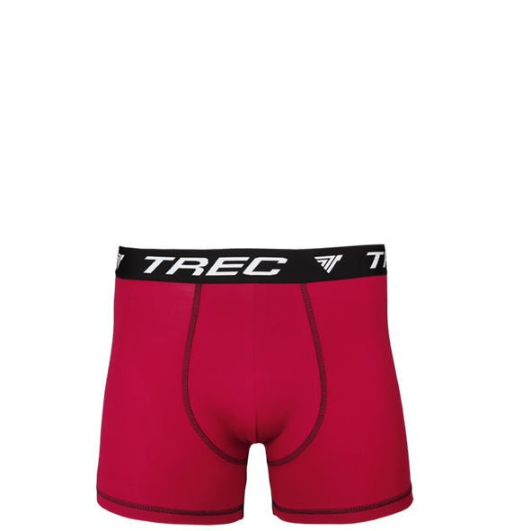 Bokserki Trec Nutrition MEN'S TREC WEAR - BOXER SHORTS 003 - RED