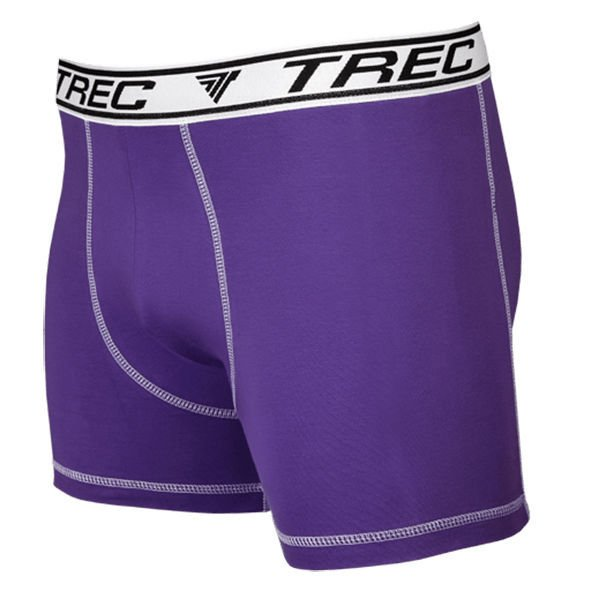 Bokserki Trec Nutrition MEN'S TREC WEAR - BOXER SHORTS 007 - PURPLE