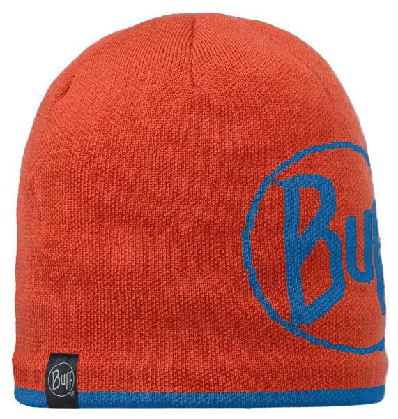 Buff Czapka Knitted & Polar Logo Orange
