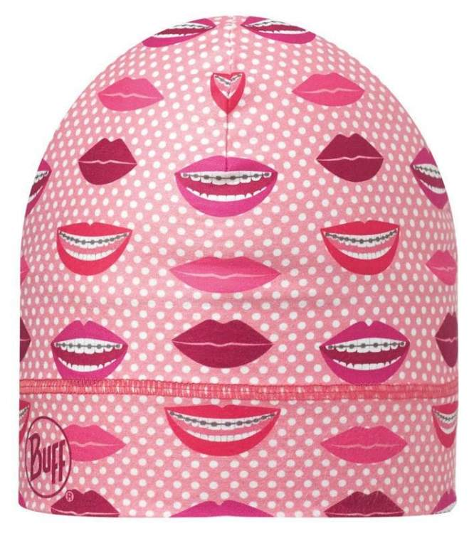 Buff Czapka Medical Hat Coolmax Lips Pink