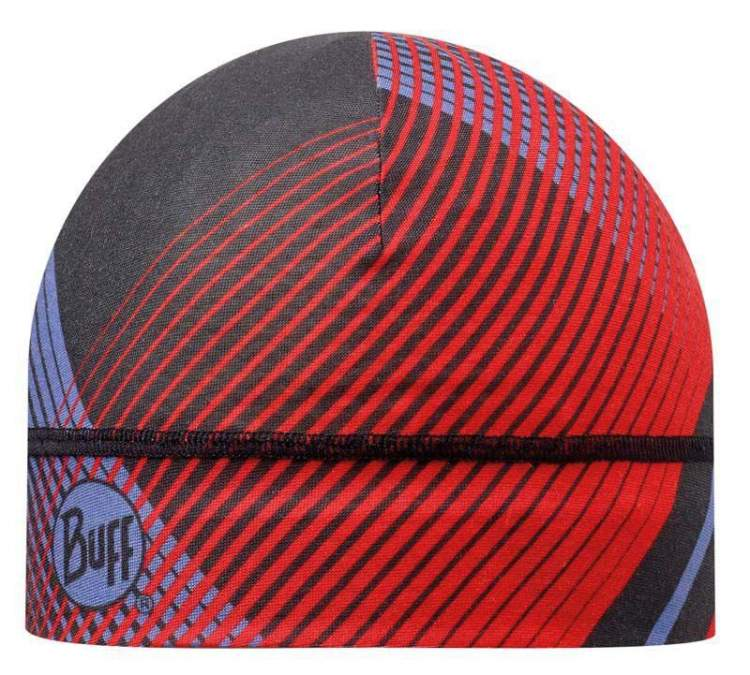 Buff Czapka z Microfibry Retro Lines Red