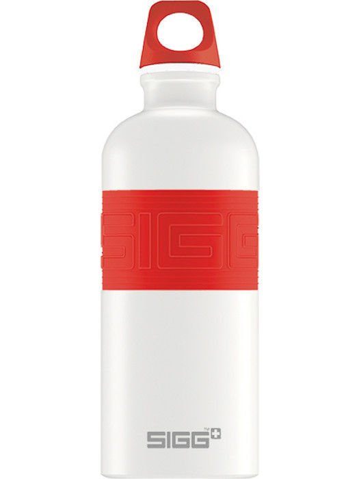 Butelka SIGG CYD Pure White/Red 0.6L 8540.50