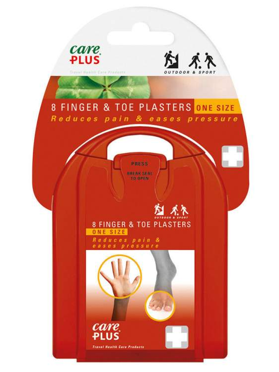 Care Plus® Blister Plasters Finger & Toe