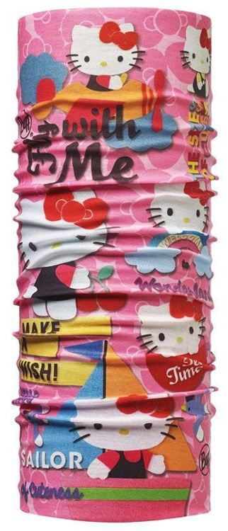 Chusta Child Original Buff® HELLO KITTY WONDERLAND PINK