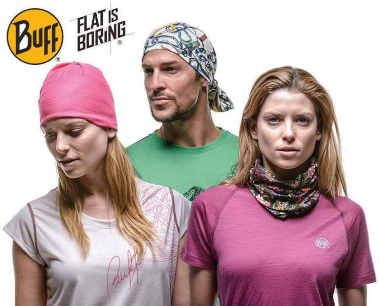 Chusta High UV Protection Buff® FINISTERRA