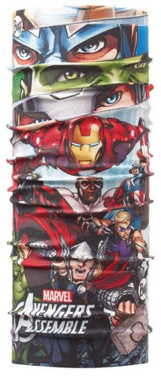 Chusta Junior Original Buff® Superheroes ASSEMBLE JR