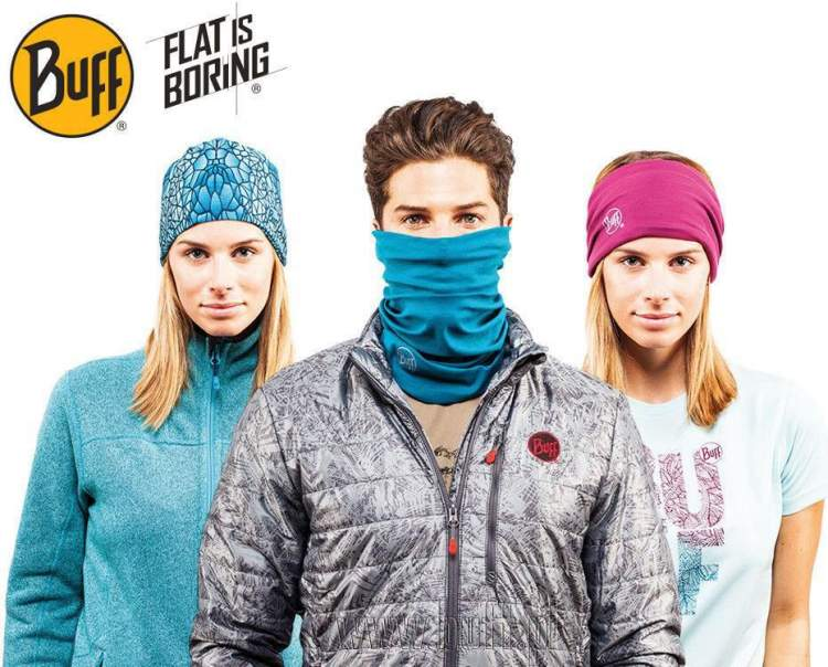 Chusta Original Buff® CASHMERE BLUE