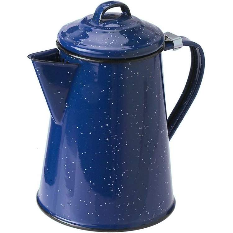 Czajnik GSI Outdoors Coffee Pot 12 Cup - blue