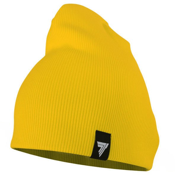 Czapka Trec Nutrition TREC ACCESORIES - WINTER CAP - LEMON