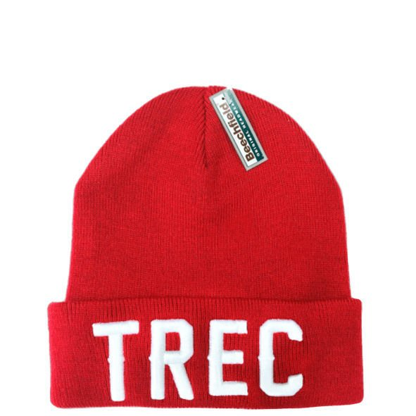 Czapka Trec Nutrition WINTER CAP 009 - TREC - RED
