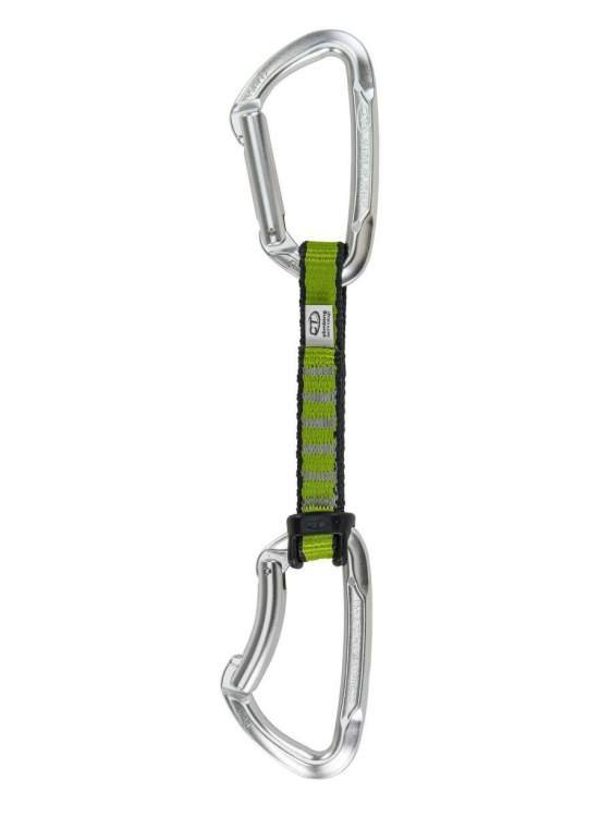 Ekspres Climbing Technology Lime Set PAD 12 cm silver