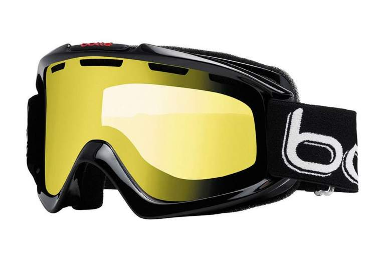 GOGLE BOLLE NOVA Shiny Black Lemon