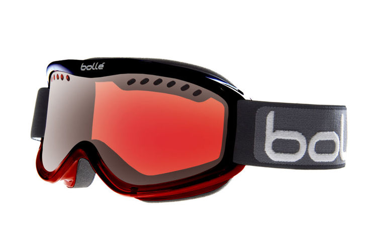 Gogle Bolle CARVE Black/ Red Fade Vermillon® Gun