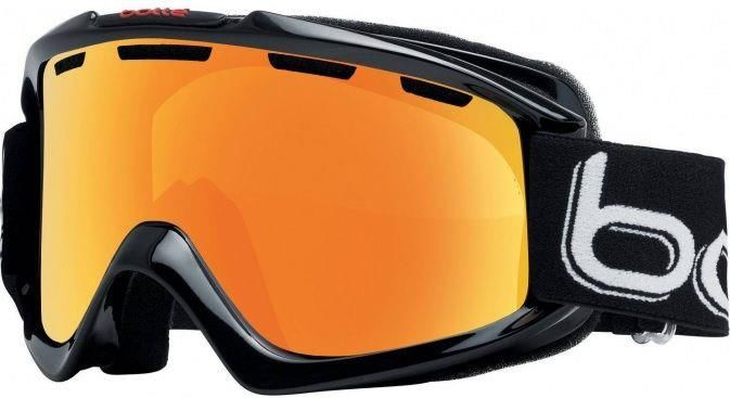 Gogle Bolle Nova Shiny Black Polarized Citrus Gold