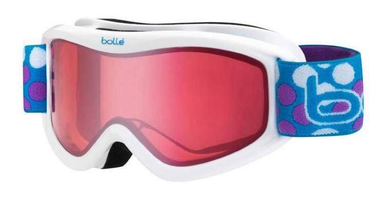 Gogle Bolle Volt Junior White Dots Vermillon