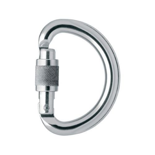 Karabinek Petzl Omni Screw-Lock