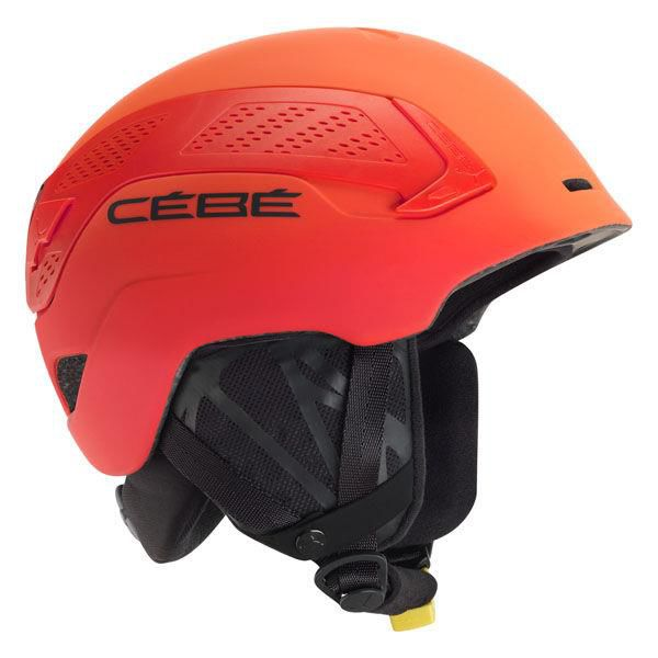 Kask Narciarski CEBE Trilogy Red Orange