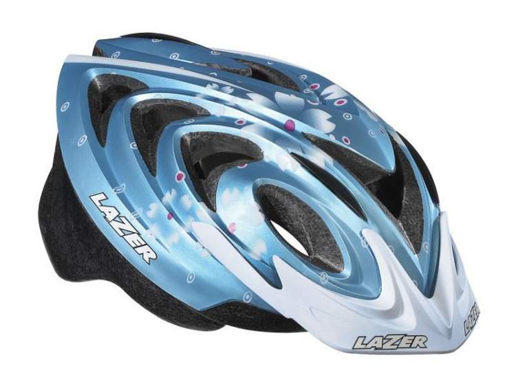 Kask juniorski LAZER JUNIOR M dream white blue 50-57 cm