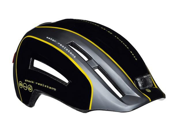Kask miejski LAZER URBANIZE N'LIGHT M black grey yellow 52-57 cm