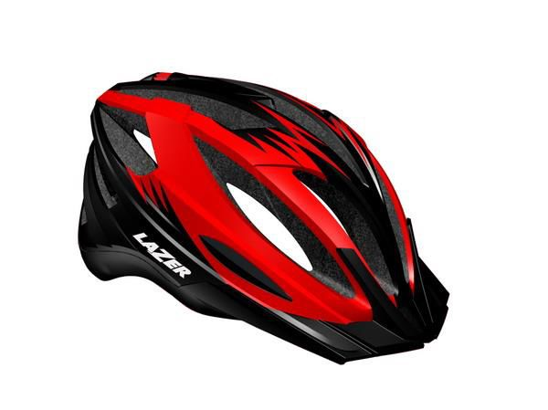 Kask mtb LAZER CLASH M/L red black 54-61 cm