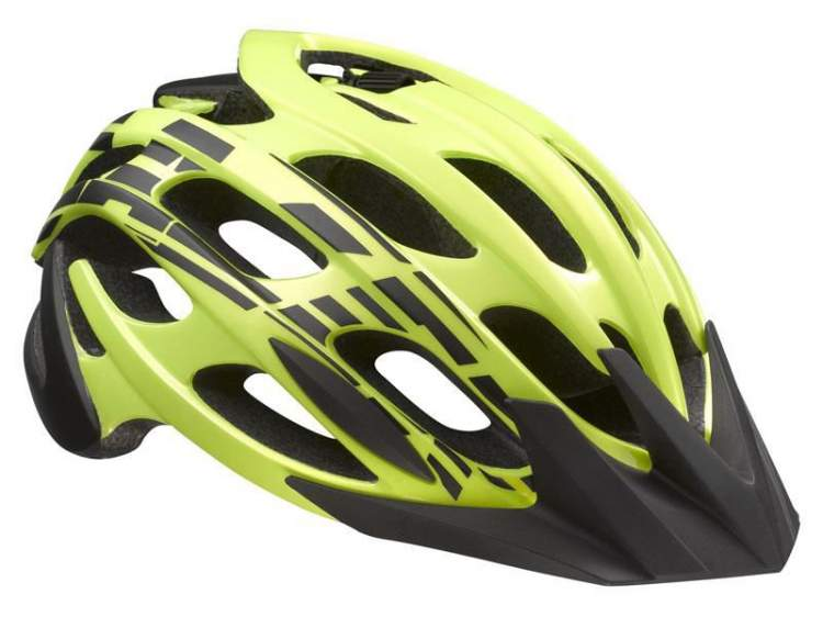 Kask mtb LAZER MAGMA S flash yellow black roz.52-57 cm