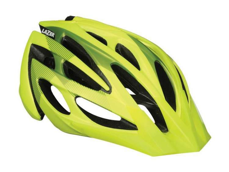 Kask mtb LAZER ROX S flash yellow roz.52-57 cm